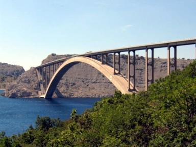 Puente isla de Krk