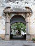 Arco de entrada al patio principal