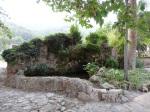Fuente exterior de los Jardines de Alfabia