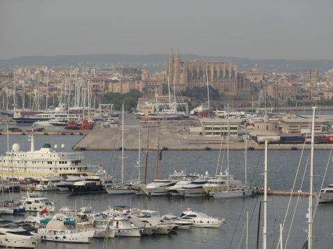 Catedral de Palma desde el Hotel Horizonte