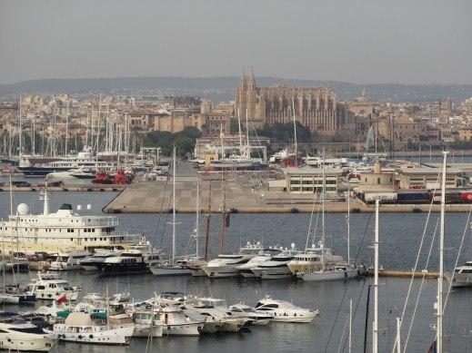 Vistas de la Catedral de Palma desde el Hotel Horizonte