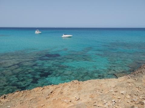 Cerca de la Playa de Sa Font Salada
