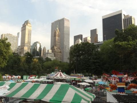 Parque atracciones Central Park