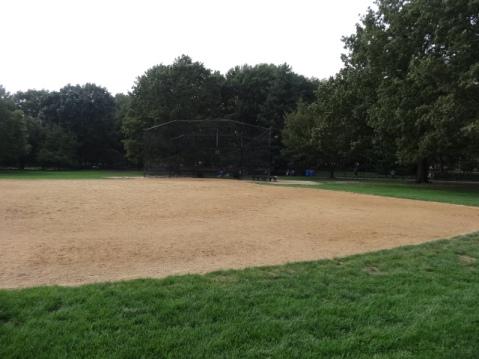 Recinto para jugar al beisbol en Central Park
