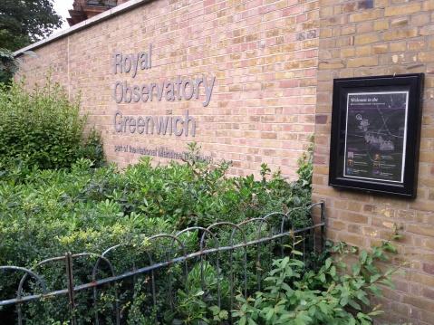 Entrada al Observatorio de Greenwich