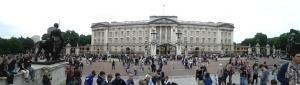 Panorámica del Buckingham Palace