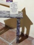 Mesa decorada con decoupage