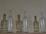 Botellas para decorar