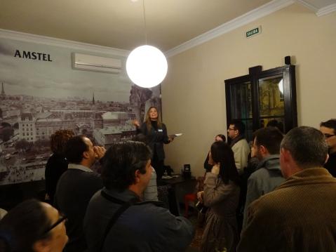 Asistentes al Mallorca Blogs durante la presentacion de Teresa