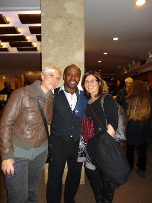 Con el Reverendo Bazil Meade