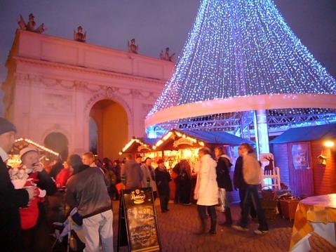 Mercado navideño de Postdam