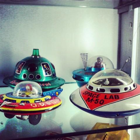 Naves espaciales de hojalata