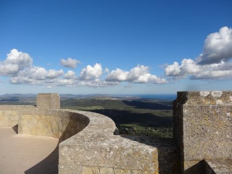 Vistas desde el Puig de San Salvador, Felanitx