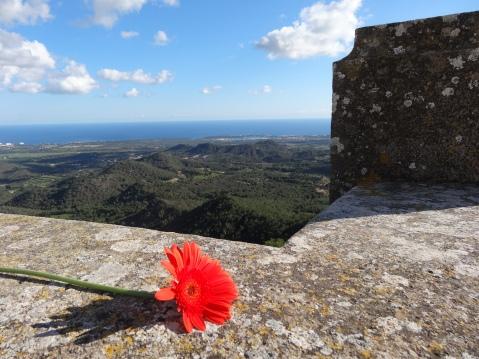 Vistas de Portocolom desde el Puig de San Salvador