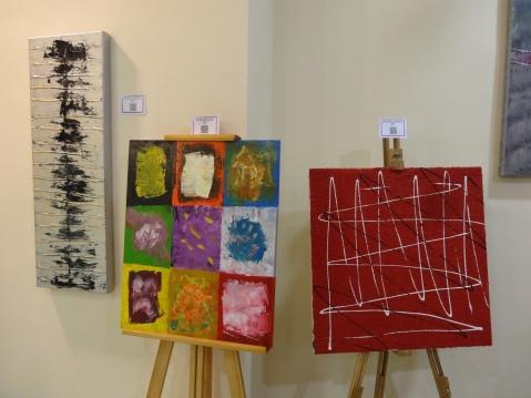 Algunas de las obras de Txema