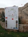 Mapa del Castillo de San Carlos