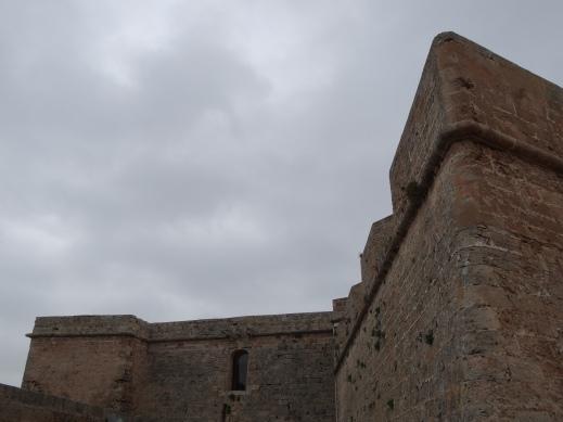 Paredes del castillo