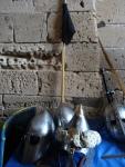Escudos y cascos medievales