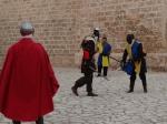 recreación lucha medieval