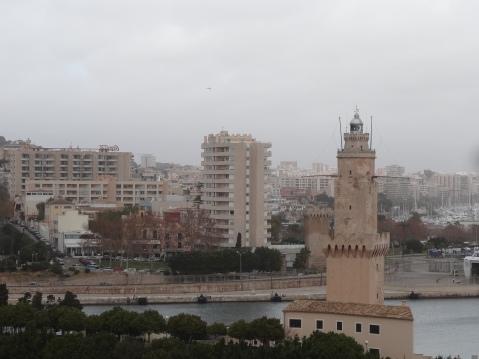 Vistas desde el torreón del Castillo de San Carlos
