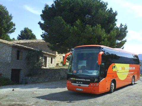 Autobús Nofrill excursiones