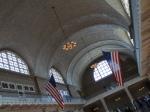 Una de las salas del museo de Inmigrante Ellis Island