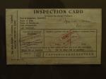 Tarjeta de inspección