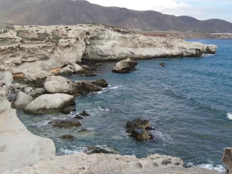 Playa en Los Escullos