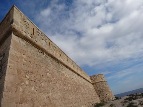 Torres de la Batería de san Felipe