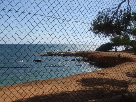 Vistas desde el camping la playa Ibiza