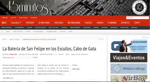 Web 45minutos.net