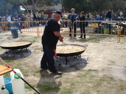 Gran paella valenciana