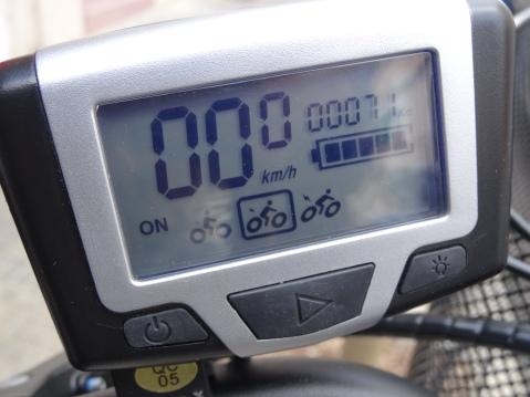 Pantalla de la bicicleta eléctrica