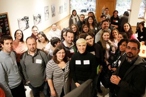 Blogueros en EsRebost Foto de Cati Cladera