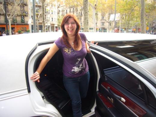 Paseo en limusina por Barcelona