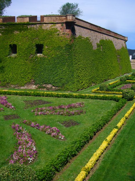 Jardines del Castillol de Montjuic