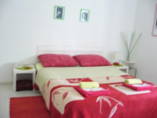 Habitación de nuestro apartamento en Zagreb
