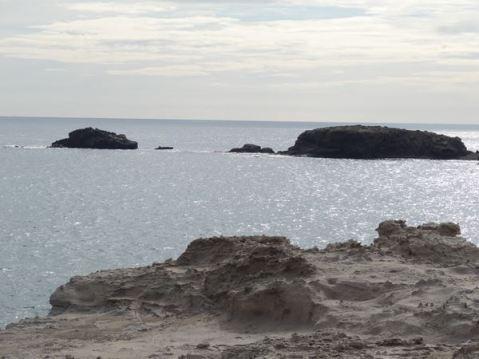 Isleta del Moro desde los Escullos