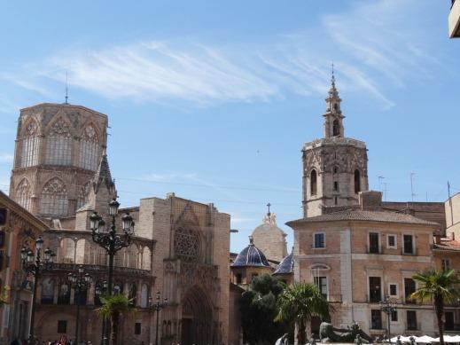 Plaza de la Reina, Catedral y Micalet